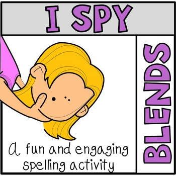 Tiny Word Hunt I SPY Blends