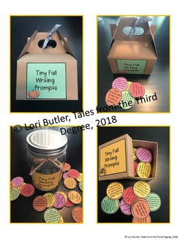 Tiny Writing Prompts for Fall