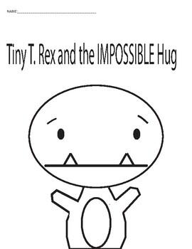 Tiny the T Rex: Coloring Sheet