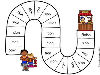 Tion or Sion? Phonics Activity Orton-Gillingham (Apple Festival Theme)