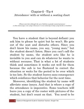 Tip 4: Attendance