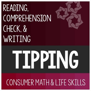 Tip Article- Consumer Math Special Education