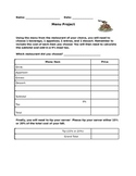 Tip & Tax: Menu Project