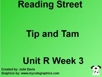 Tip and Tam! SmartBoard Companion Common Core 1st Grade