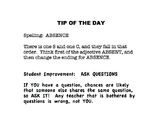 Tip of the Day Packet
