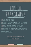 TipTop Paragraphs Poster