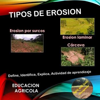 Tipos de Erosión (spanish version)