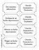 Tipos de oraciones - Memorama 2