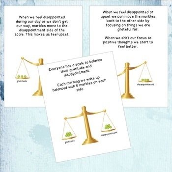 Tipping the Scale - Gratitude Lesson and Activities