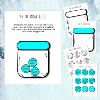 Gratitude Lesson and Activities - Tipping the Scale