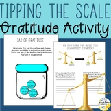 Gratitude Lesson and Activities Tipping the Scale Counseli