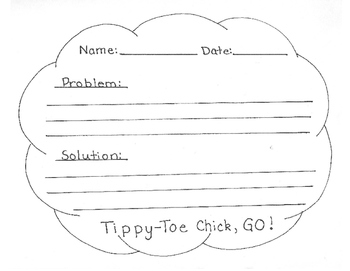 Tippy-Toe Chick, GO ! Craftivity