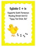 """Tippy Toe Chick, Go!"""