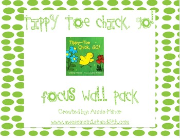 Tippy Toe Chick, Go! Focus Wall Pack