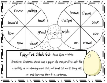 Tippy-Toe Chick, Go! Games