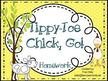 Tippy-Toe Chick, Go! Homework - Scott Foresman 1st Grade