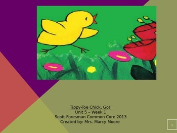 """Tippy Toe Chick Go!"" (Instructional Guide for Reading Street 2013)"