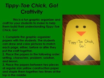 UPDATED Tippy-Toe Chick, Go! Literacy Pack - First Grade Foresman Reading Street