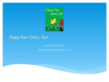 Tippy Toe Chick, Go! Phonics Skills
