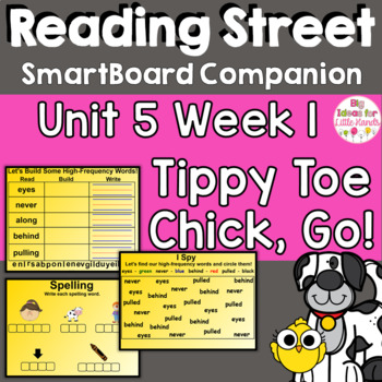 Tippy-Toe Chick, Go! SmartBoard Companion 1st First Grade