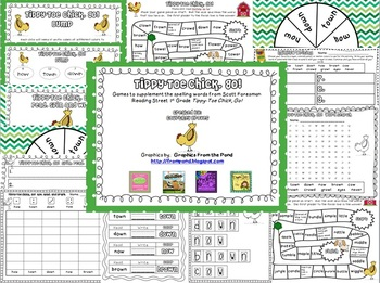 Tippy Toe Chick Go Spelling Games
