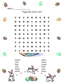 Tippy-Toe, Chick Go! Spelling Word Search- Reading Street Unit 5, Week 1