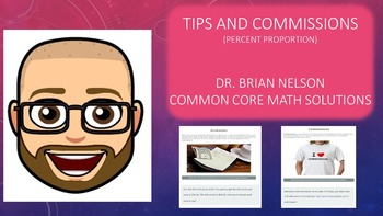 Tips & Commissions Problems using Percent Proportion