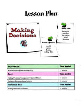 Tips For Decision Making Lesson