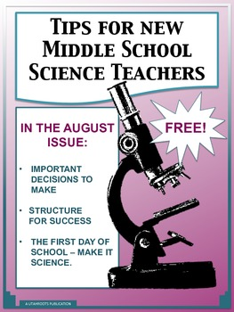 Tips For New Middle School Science Teachers