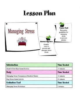 Tips For Stress Management Lesson