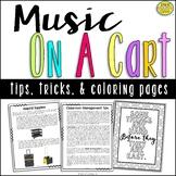 Tips For Teaching Music On A Cart (For Traveling Music Teachers)