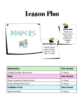 Tips On Changing Diapers Lesson
