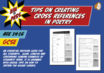 Tips On Creating Cross References In Poetry For GCSE Engli