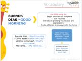Tips and Grammar Guide   Buenos días (Good Morning)