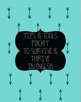 Tips and Tools Packet to Survive and Thrive in English-Tur