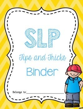 Tips and Tricks Binder