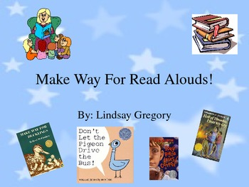 Tips and Tricks for Read Aloud's