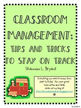 Back to School Classroom Management (Train Theme)