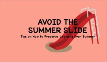 Tips for Avoiding the Summer Slide