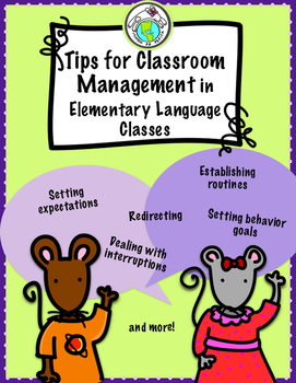 Tips for Classroom Management for Elementary Foreign Language Classes