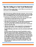Community-Based Eating Out Etiquette