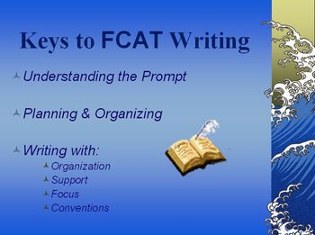 Tips for FCAT Writing