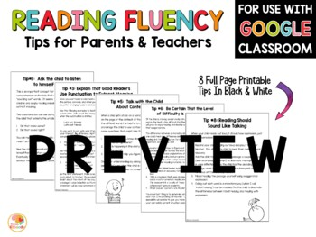 Improving Reading Fluency and Accuracy: For Parents and Teachers