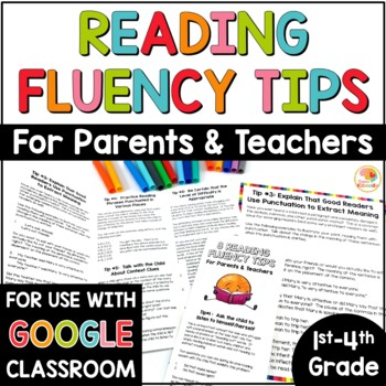 Reading Fluency Tips: For Parents and Teachers