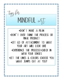 Tips for Mindful - A Printable Classroom Reminder