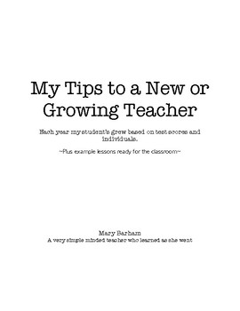 Tips for New or Growing Teachers - Plus 3 Free Reading Lessons