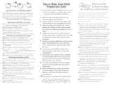 Tips for Parents-Pamphlet (Promoting & Supporting Involvement)