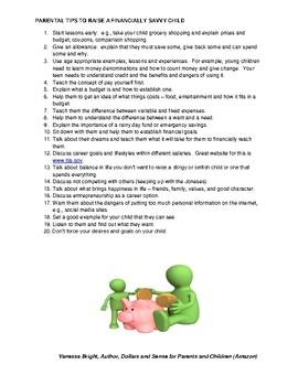 Tips for Raising Financially Savvy Kids