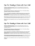 Tips for Reading at Home With Your Child