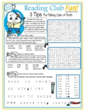 Tips for Taking Care of Your Teeth 3-Part Puzzle